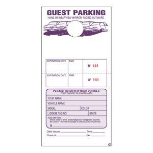 Guest Parking Permit 2 Part