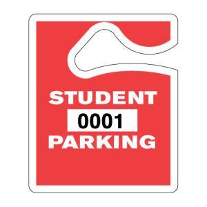 Small Student Hang Tag