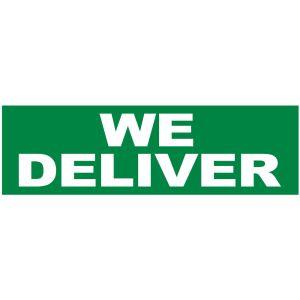 Banner - We Deliver