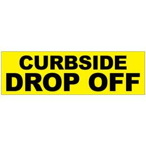 Banner - Curbside Drop Off
