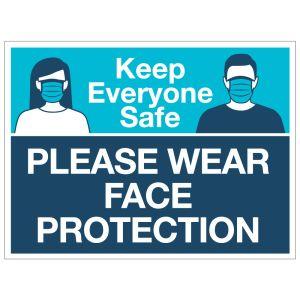 Keep Everyone Safe Yard Sign