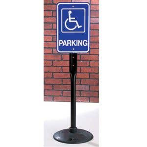 Portable Sign Post