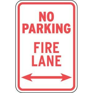 Clearly designate Fire Lanes.