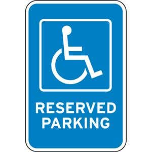 Comply with ADA laws by posting these signs.