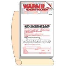 Personalized Parking Violation Book