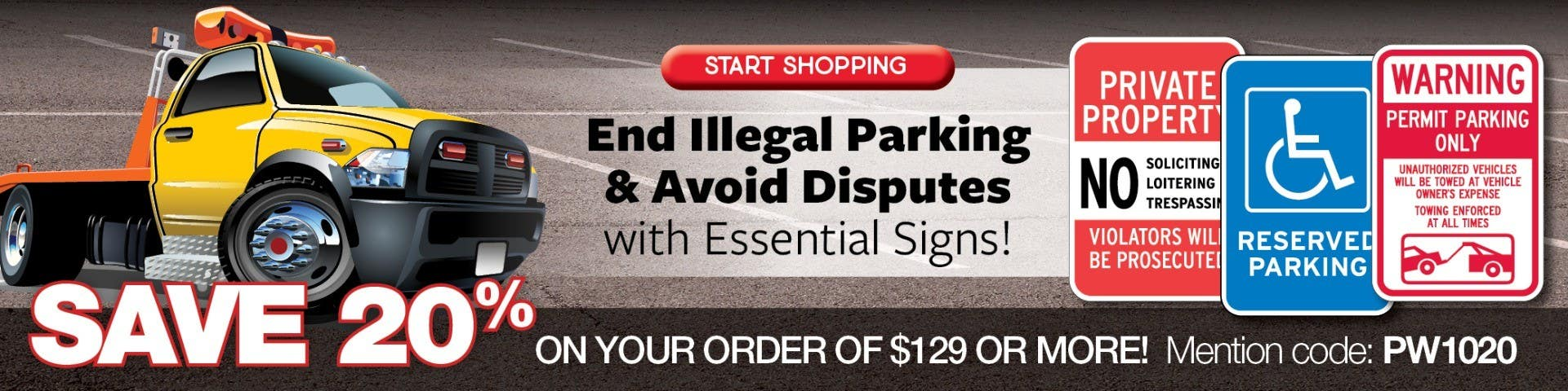 End Illegal Parking & Avoid Disputes with Essential Signs