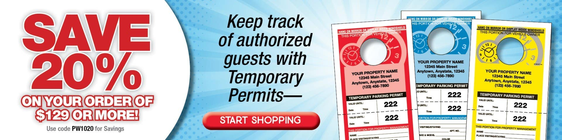 Keep track of authorized guests with Temporary Permits